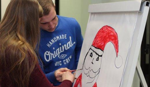 Mikołaj w Zespole Szkół